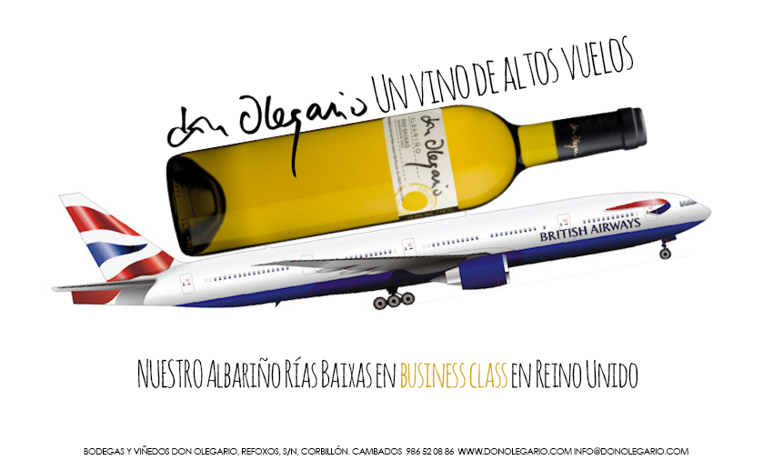 Don Olegario  y el Club World de British Airways